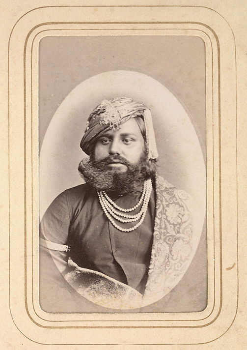 DATIA: Arjun Singh of Datia, brother of Maharaja Bhawani Singh.